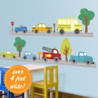Cars & Trucks Wall Decals - Contemporary - Wall Decals ...