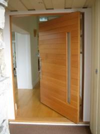 Front Doors: Pivot Front Doors