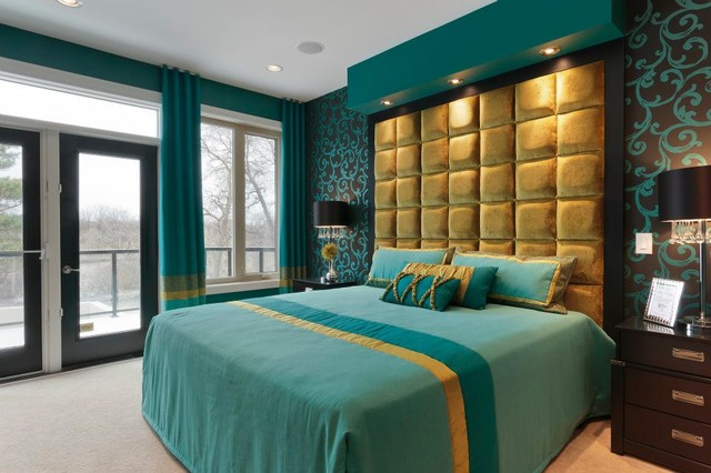 Master Bedroom Eclectic Bedroom Other Metro By