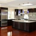 Espresso contemporary kitchen for c m sunnyvale contemporary kitchen