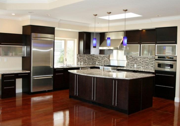 Cherry Espresso Kitchen Cabinets