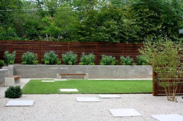 minimalist backyard - modern