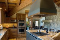Tuscan Farm - Rustic - Kitchen - by Centre Sky ...
