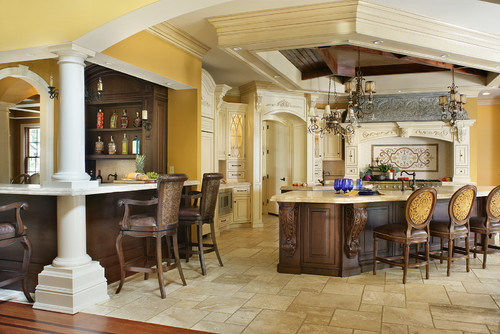 Traditional Kitchen by Peter Salerno Inc. Photo credit Peter Rymwid