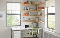 Float Wood Wall Shelves Office by R&B - Modern - Home ...