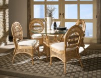 Rattan Furniture - Tropical - Dining Room - new york - by ...