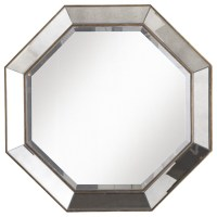 Crisanto Octagon Mirror - Traditional - Wall Mirrors - by ...