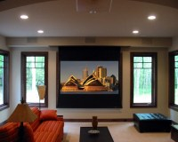 Projector - Contemporary - Living Room - grand rapids - by ...