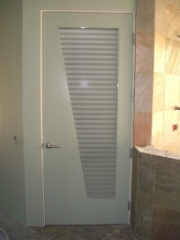 Interior Glass Doors with Obscure Frosted Glass - Sleek ...