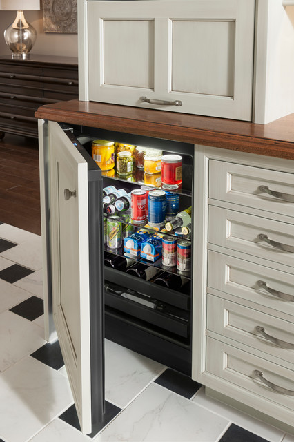 Beverage Center  Traditional  by WoodMode Fine Custom