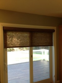 Patio door shade