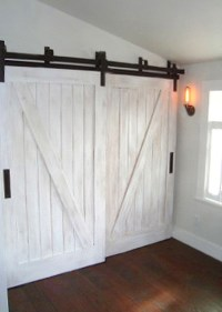 barn door type closet doors | Roselawnlutheran