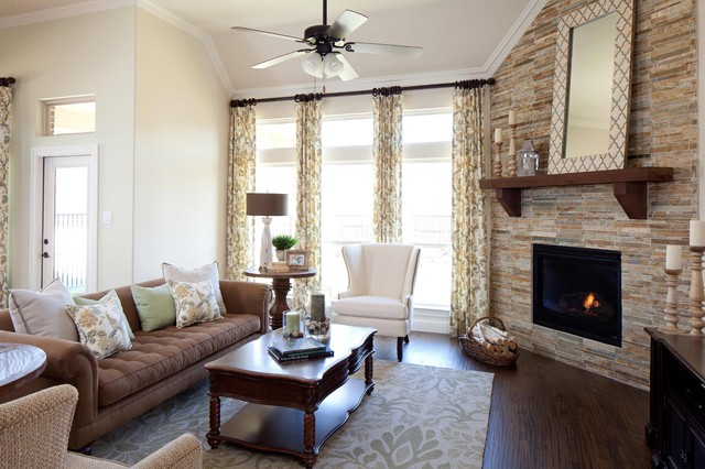 sectional sofa dallas fort worth king size bed singapore villas of colleyville - traditional family room ...