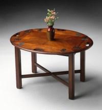 Plantation Cherry Butler's Coffee Table - Modern - Coffee ...