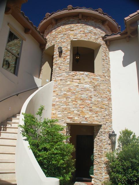 kitchen countertops las vegas f stone turret terracotta home - mediterranean exterior ...
