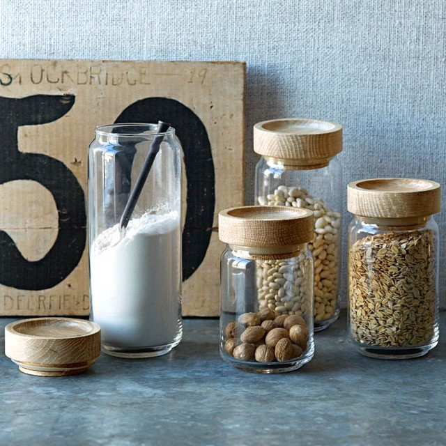 Storage Jars Contemporary Kitchen Canisters West Elm