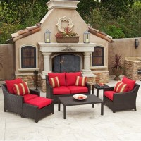 RST Cantina 6 Piece Deep Seating Loveseat Set contemporary ...