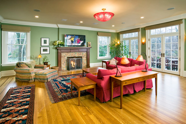 Comforts of Home  Traditional  Living Room  new york