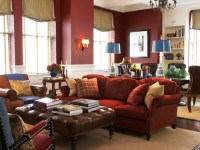 Red Wine Colored Decor | Letters from EuroLux