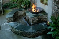 5-Points Bungalow, with Fire Pit/Water Feature - Eclectic ...