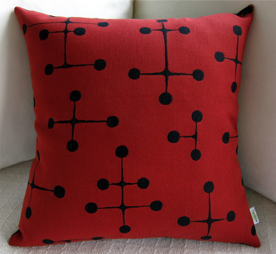 Eames Midcentury Modern Pillow Cover by Atomic Livin Home