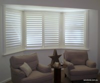 Plantation shutters in a beautiful Erindale home in