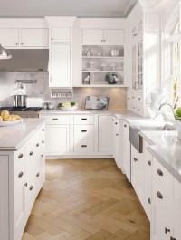 Decora Cabinetry: Prescott Beaded Inset Maple White ...