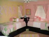 Twin Girls Bedroom Ideas Photograph | Twin Girls Room - mode