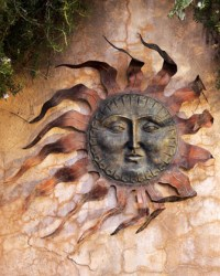 Sun Wall Decor - Traditional - Outdoor Decor - by Horchow