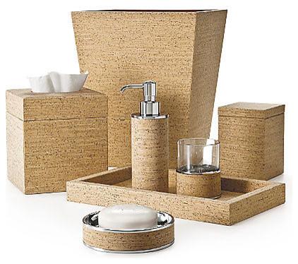 Labrazel Cork Bath Accessories  Contemporary  Bathroom