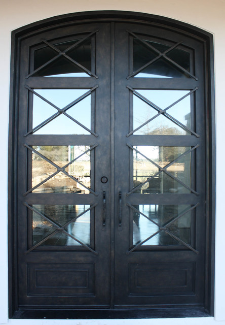 wrought iron kitchen table how to install backsplash in contemporary door - front doors ...