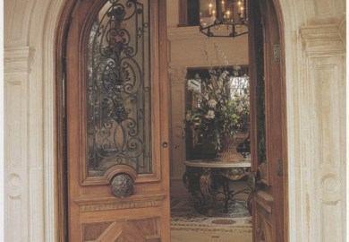 Custom Double Front Doors