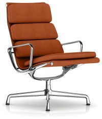 Eames Soft Pad Lounge Chair - Swivel Base - Fabric ...