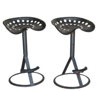 Pair Vintage Tractor Bar Stools - Traditional - Bar Stools ...