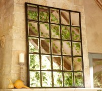 Eagan Multi-Panel Large Mirror - Eclectic - Mirrors - by ...