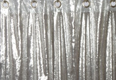 Gray Ombre Window Curtains