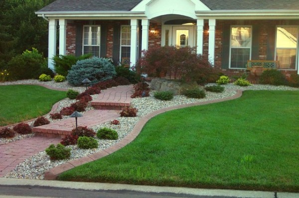 residential edging - traditional