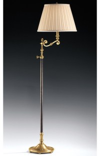 Swing-Arm Adjustable Lamp - Traditional - Floor Lamps - by ...