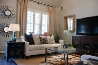 Rustic Glam Living Room - Traditional - Living Room ...