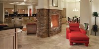 Two Way Fireplace - Asian - Family Room - phoenix - by ...