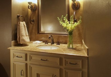 Elegant Half Bathrooms