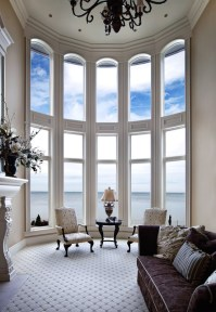 Curved Window Treatment