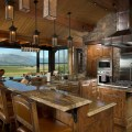 Frames rustic kitchen other metro by rocky mountain log homes
