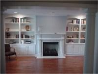 Custom Wall Units - Traditional - Living Room - new york ...