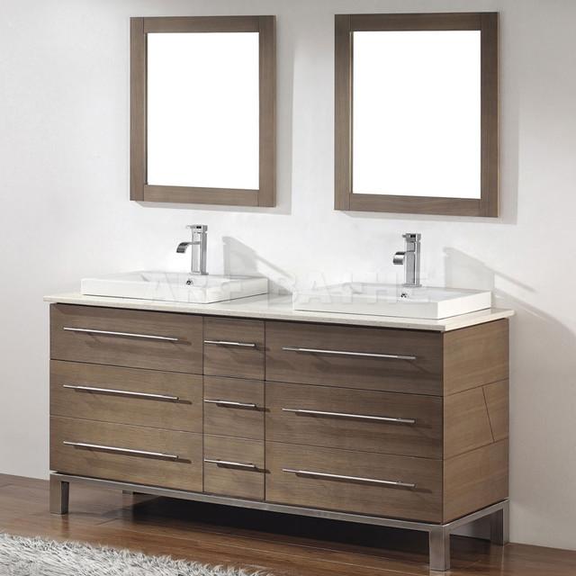 Art Bathe Ginza 63 Smoked Ash Bathroom Vanity