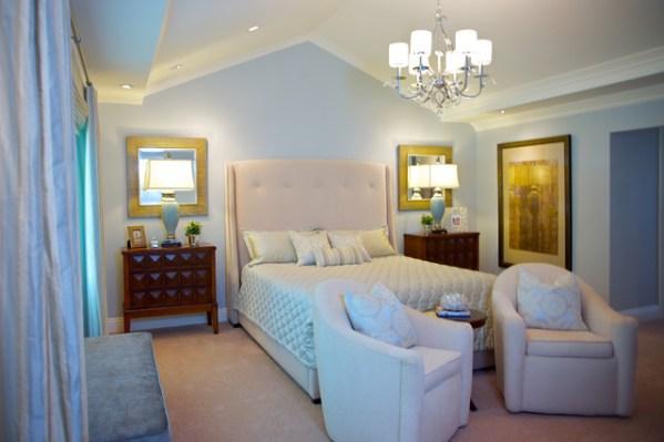 peaceful master bedroom peaceful master bedroom and bahroom - Traditional - Bedroom - los angeles - by van zee design