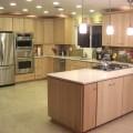 Modern natural maple modern kitchen sacramento by auburn