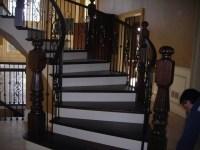 Basement stair options