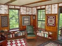 Adirondack seasonal cottage - Eclectic - Living Room ...