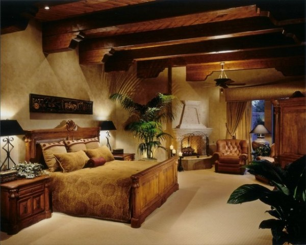 mediterranean bedroom design Paradise Valley Home - Mediterranean - Bedroom - phoenix - by Debra May Himes Interior Design